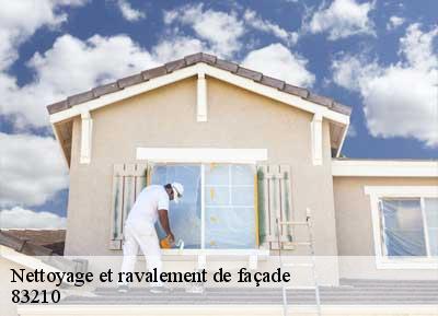 Nettoyage Et Peinture De Façade à Sollies Ville 83210